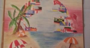 Bridgewater's Jaylee Borges Peace Poster