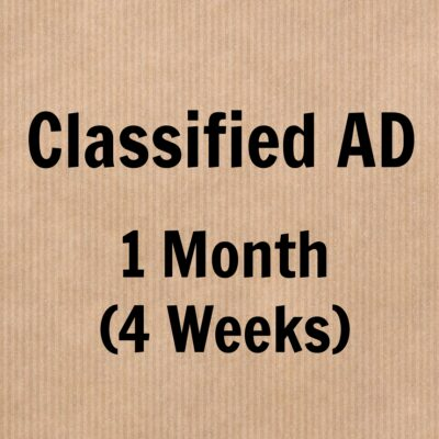 1-month-classified-ad
