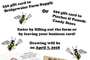 Contest with Bridgewater Farm Supply and Pinches & Pounds