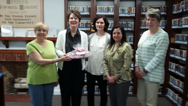 The GFWC Taunton Junior Woman's Club Made a Surprise Visit to Our Local Libraries on National Library Workers Day