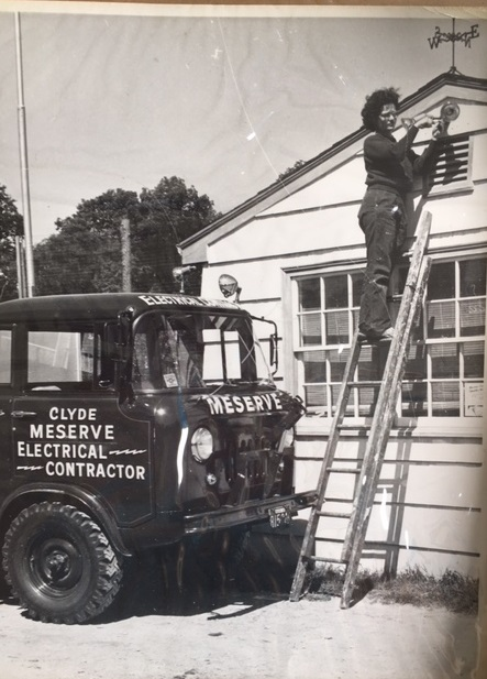 Massachusetts first female licenced master electrician grew up on West Union St, EB in the 1950's.