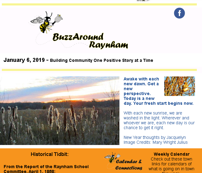 Buzz Around Raynham 1/6/19