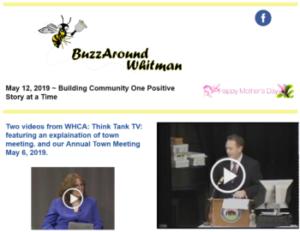 BuzzAround Whitman 5/12/19